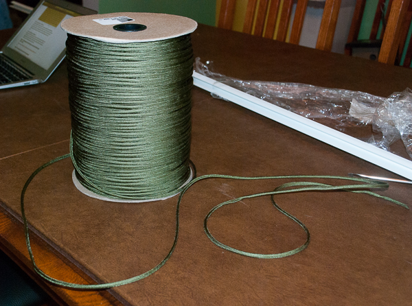 A Huge Roll of Parachute Cord