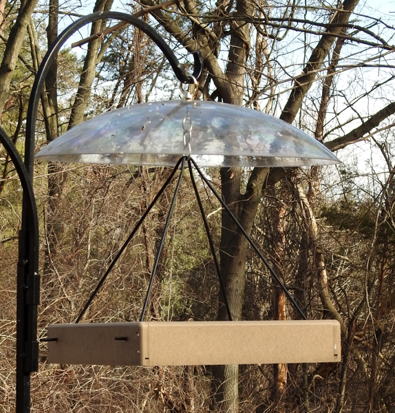 Birds Choice Hanging Platform Feeder (Dome Purchased Separately)