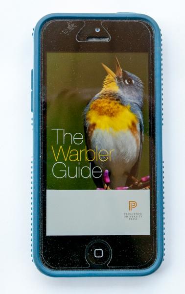 Warbler Guide birding app Splash Screen