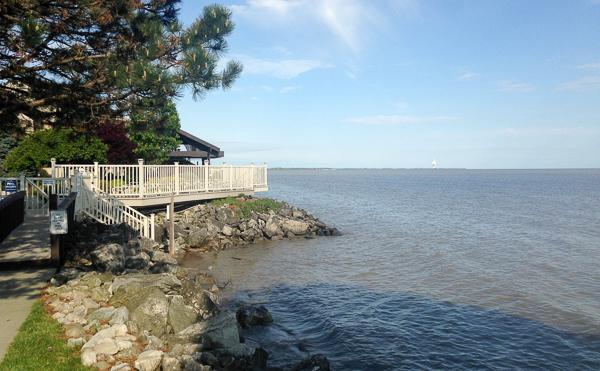 Lake Erie Shore at Port Clinton