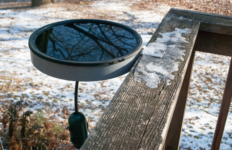 Evra Deck Mount Bird Bath