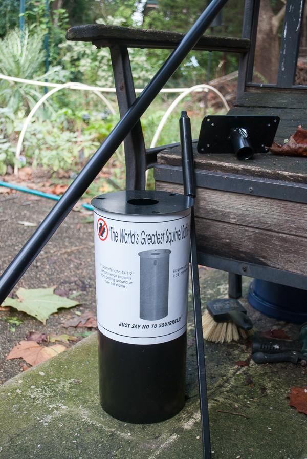 Baffle and Pole