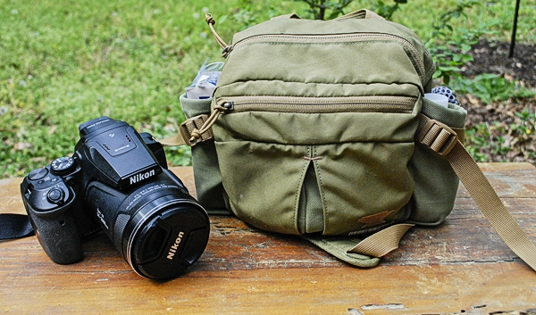 My Coolpix p900 & Mountainsmith Drift Lumbar Pack
