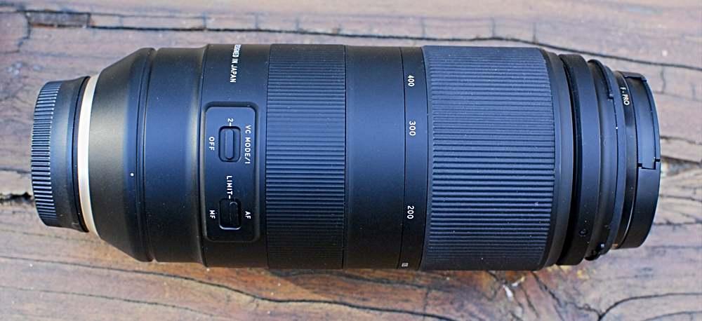 Tamron 100-400 f/4.5 Lens