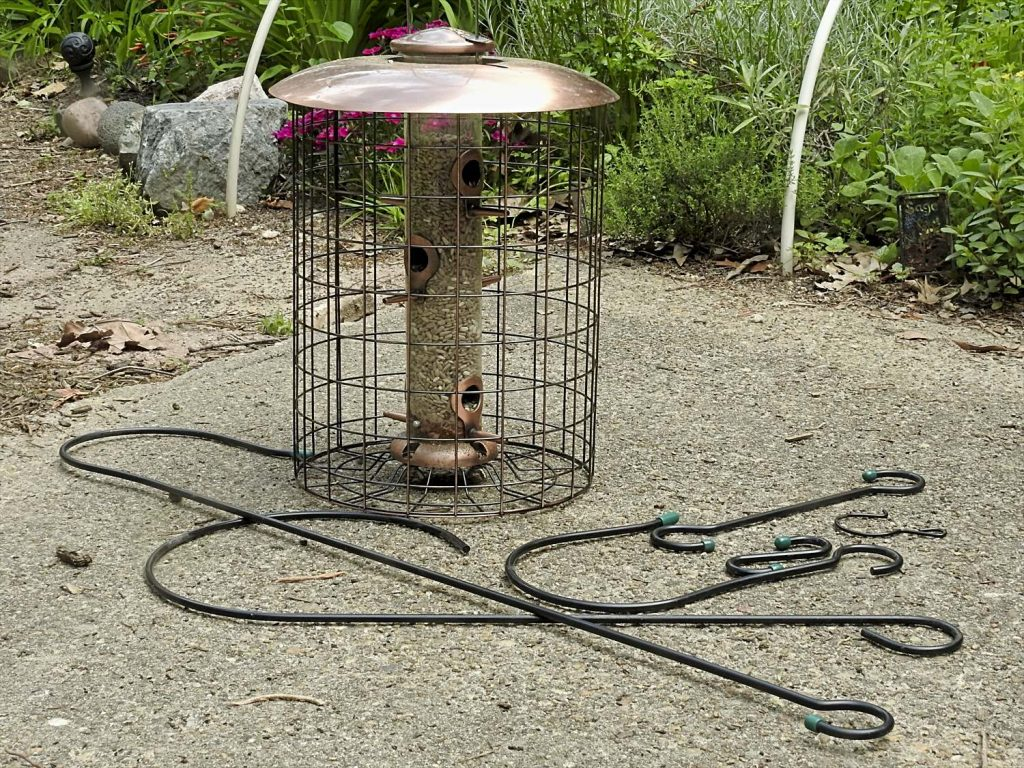 Bird Feeder and Various Hooks