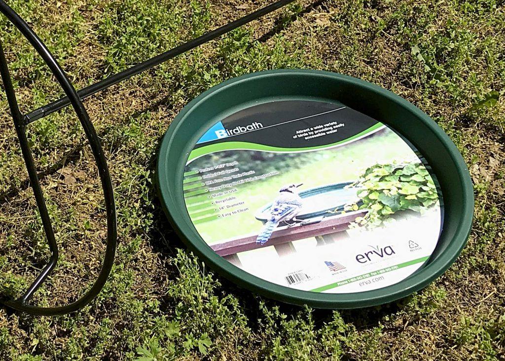Erva Wire Frame Birdbath & Dish Insert