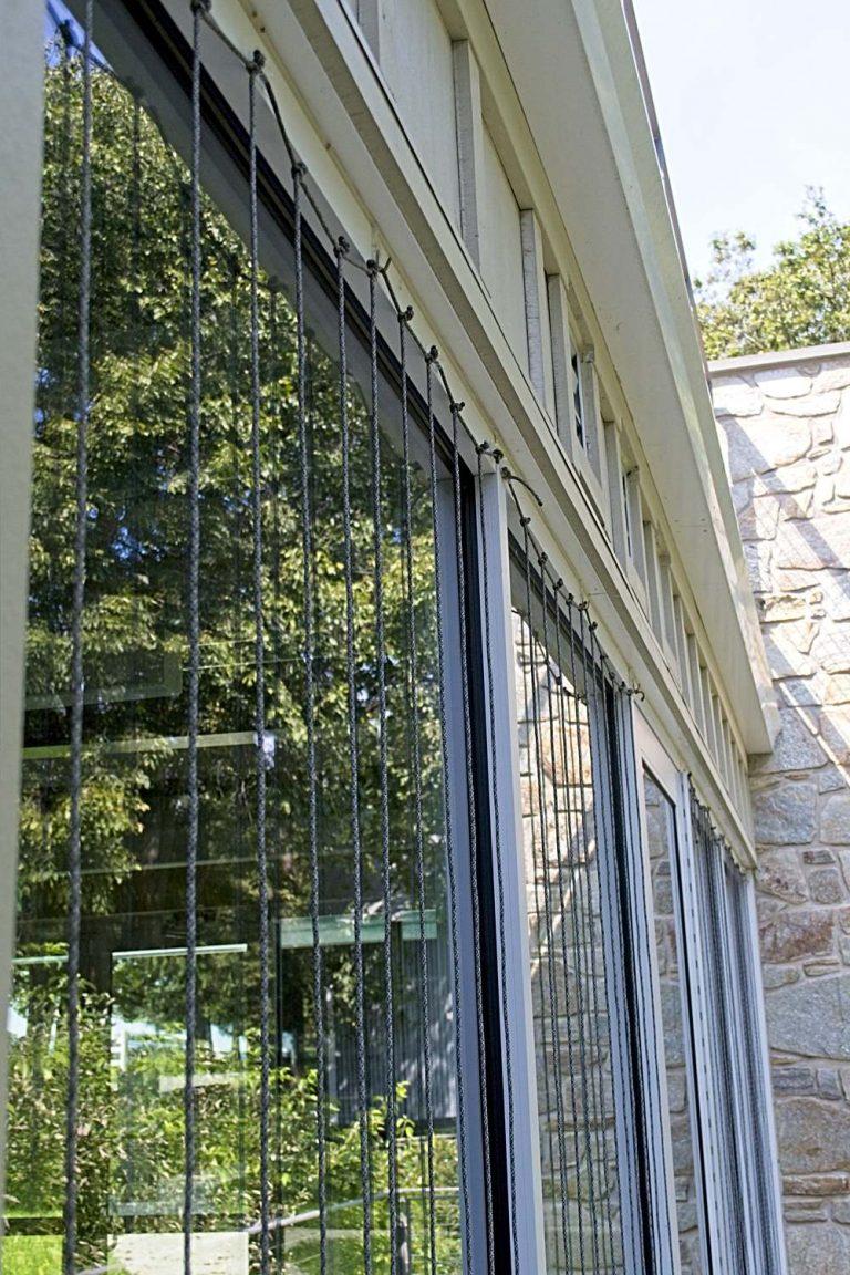 Howard County Conservancy's Zen Wind Curtains